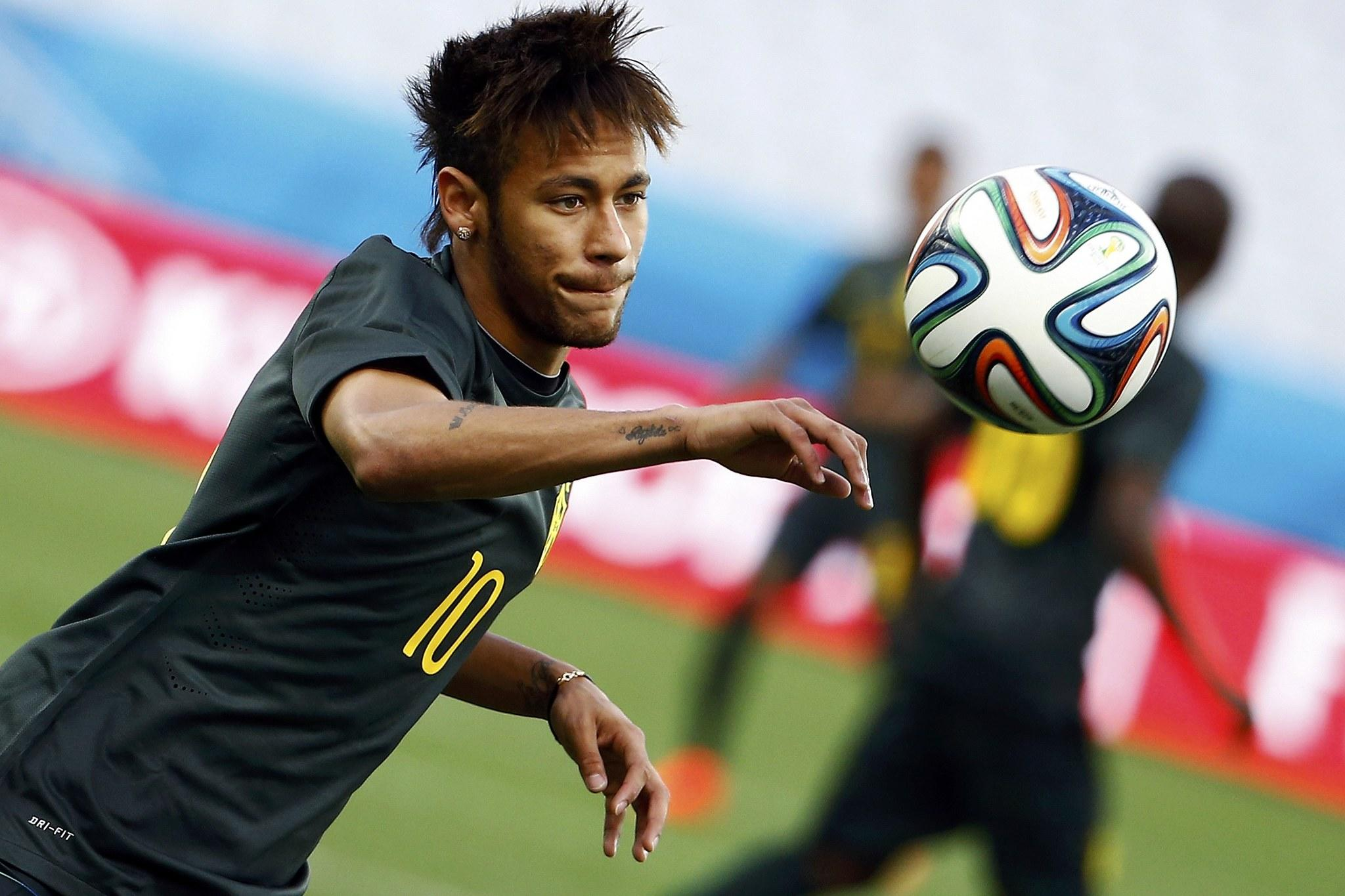 Brazilian star Neymar and the host nation kick off the World Cup against Croatia at 4 p.m.