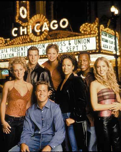 """The cast of """"The Real World: Chicago"""" in 2002."""