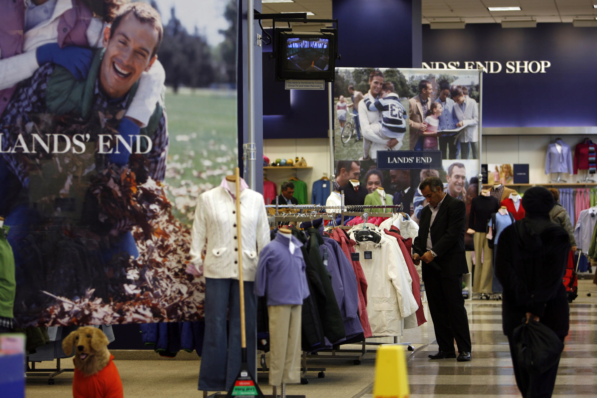 The Lands' End shop in the Sears store on State Street in 2006.