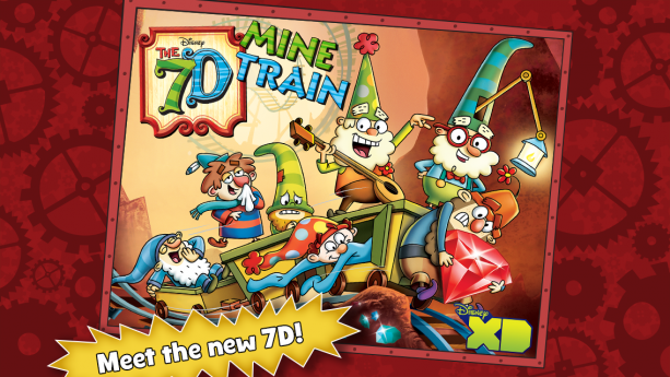 The Seven Dwarfs Mine Train Attraction at Walt Disney World has inspired a new television show and app.