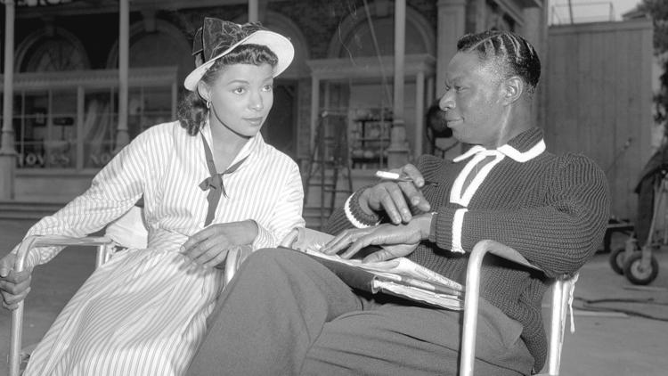 Ruby Dee and Nat King Cole