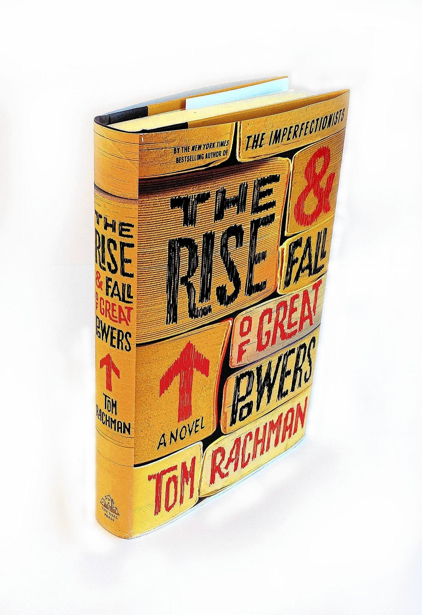 """""""The Rise & Fall of Great Powers"""" by Tom Rachman follows Tooly Zylberberg as she attempts to discover what the true sense of """"self"""" is."""