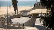 Santa Monica Beach, with a power-up option