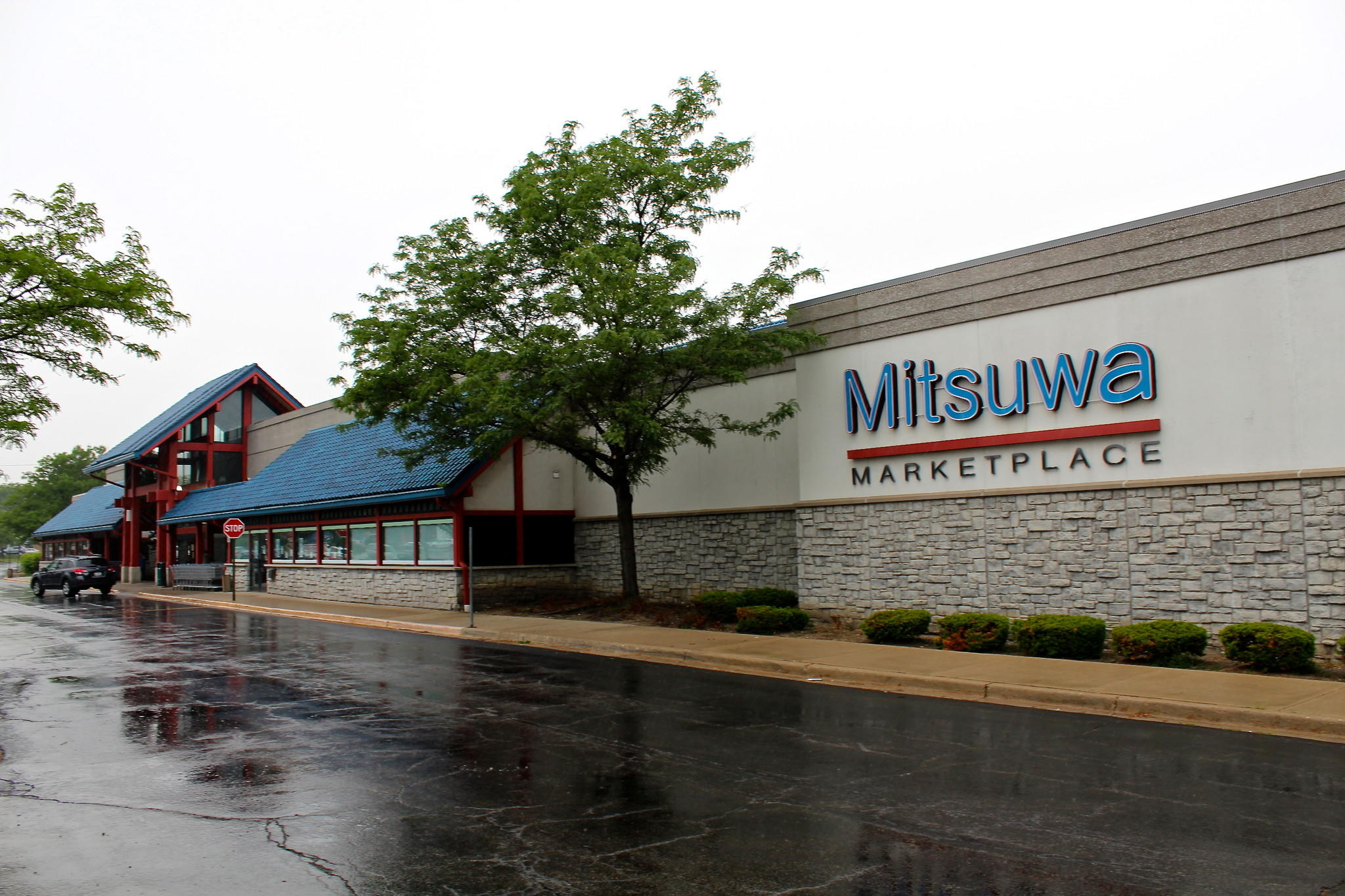 The Mitsuwa Marketplace in Arlington Heights is the largest Japanese market in the Midwest.