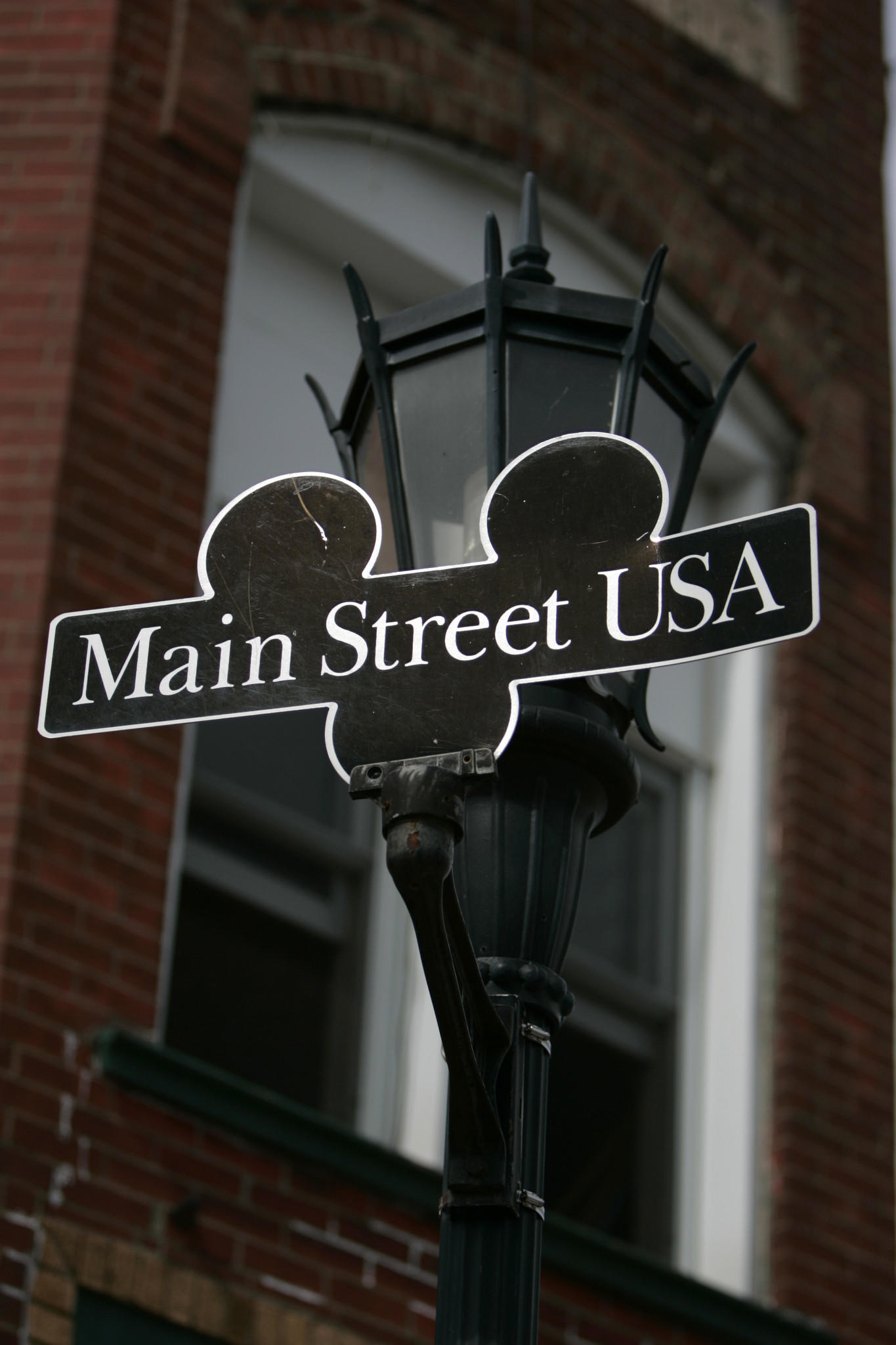 Sign of Main Street is seen in Marceline, MO, Sep 27, 2006, where Walt Disney grew up. A longtime Disney executive is suing the entertainment giant for age discrimination.