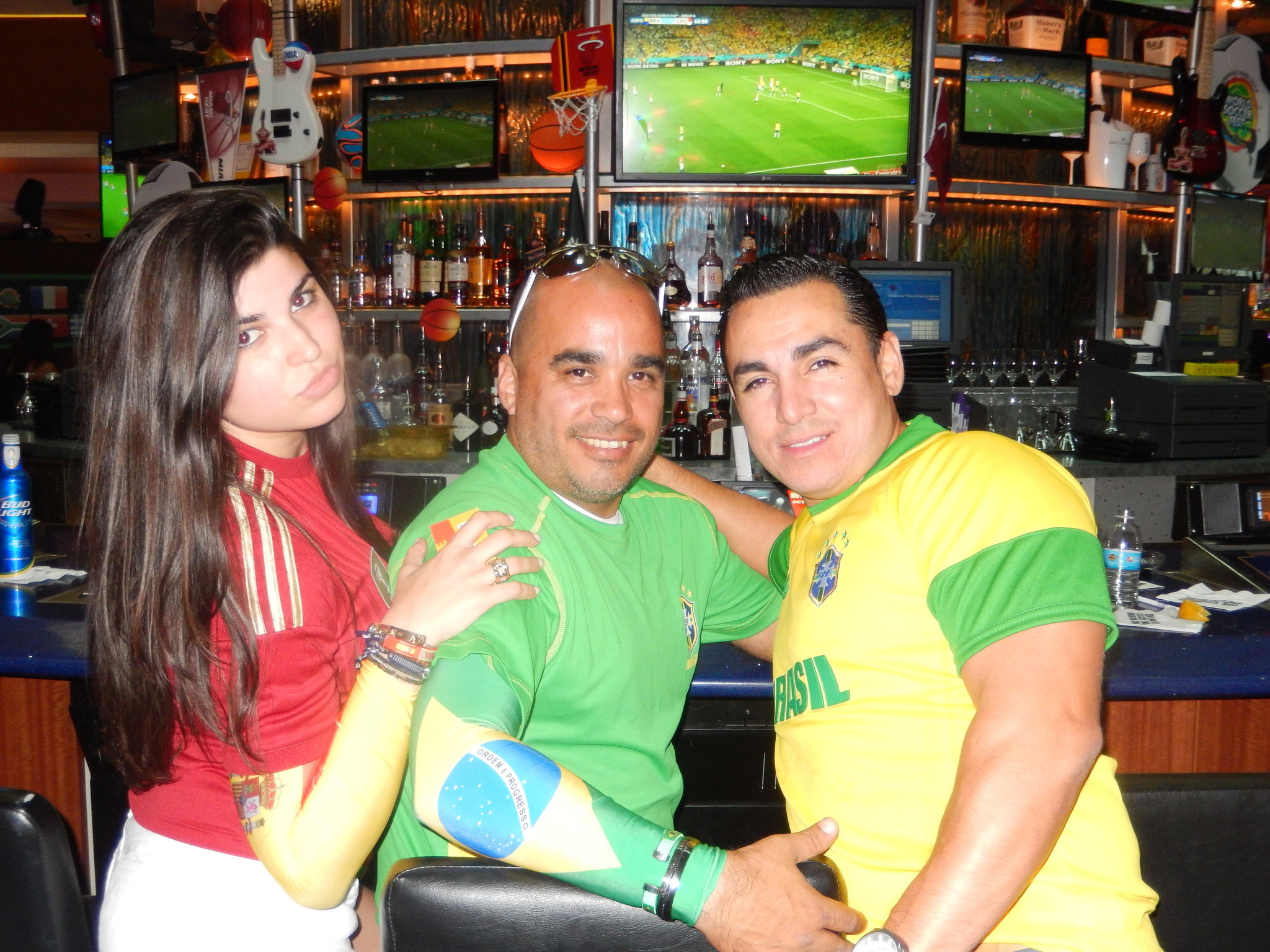 World Cup fans in South Florida - Pregame parade and watch party at Seminole Hard Rock Hotel & Casino in Hollywood.