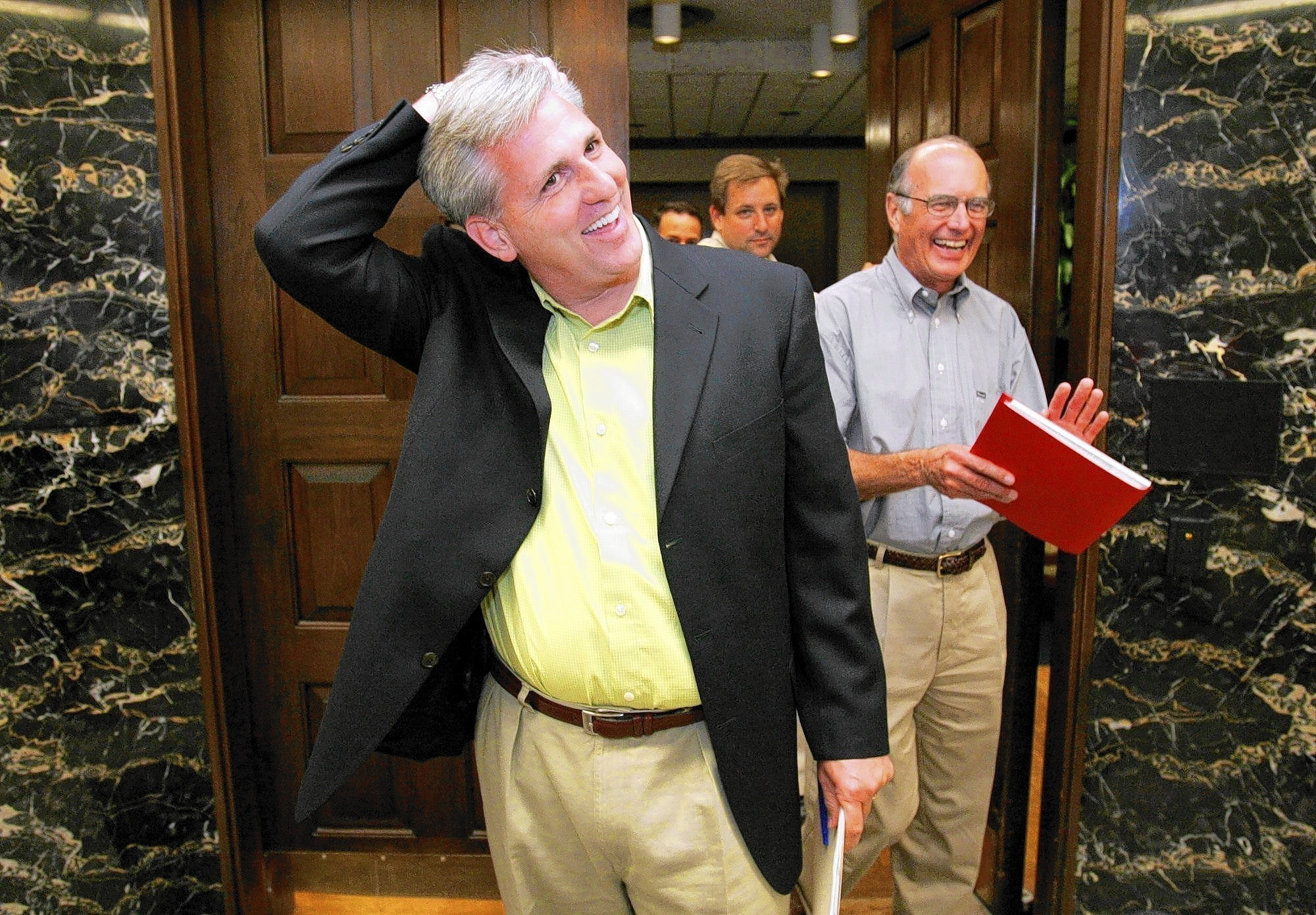Kevin McCarthy, would-be majority leader, at home in D.C ...