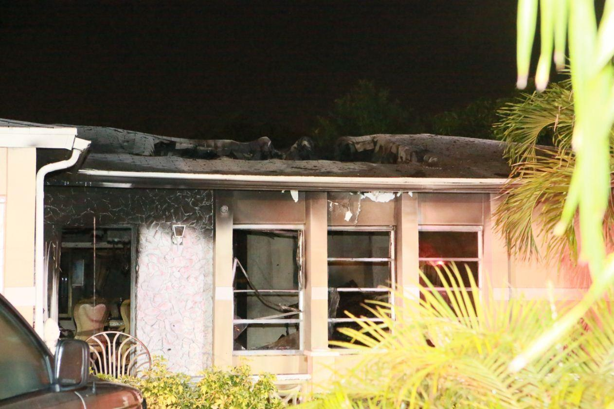 A Margate family of four escaped the flames in their home