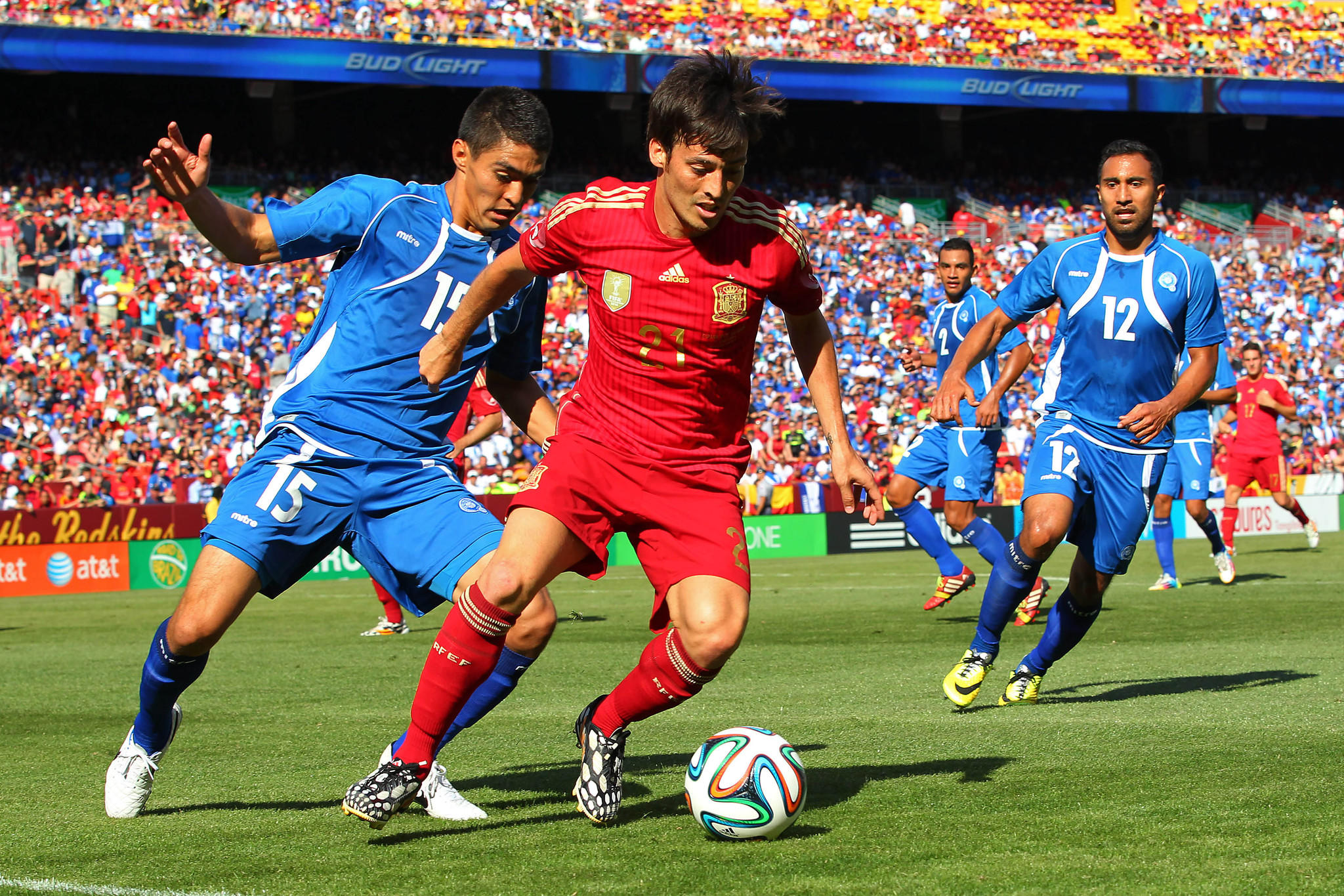 David Silva and Spain defeated the Netherlands in the 2010 World Cup final. Those nations meet Friday in their group stage opener.