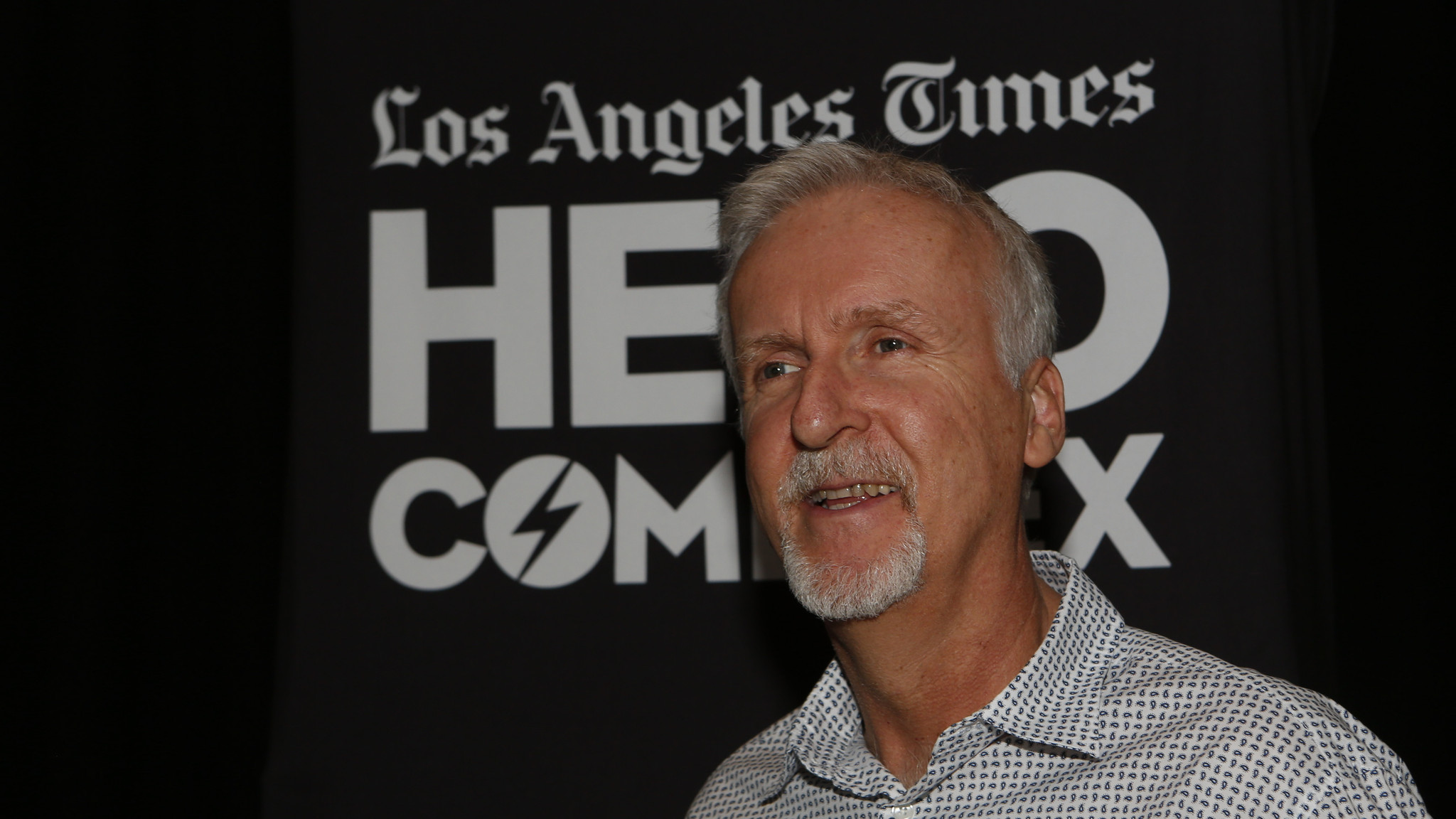 James Cameron (Anne Cusack / Los Angeles Times)