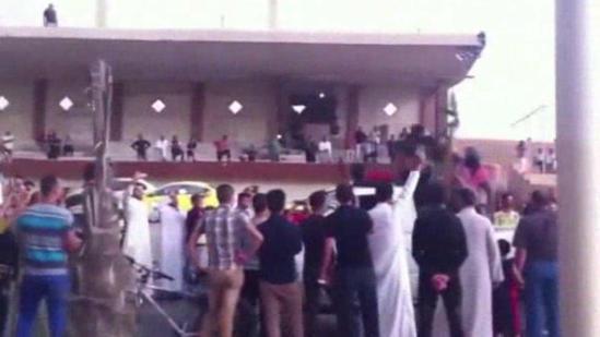 Iraqi militants celebrate seizure of Mosul