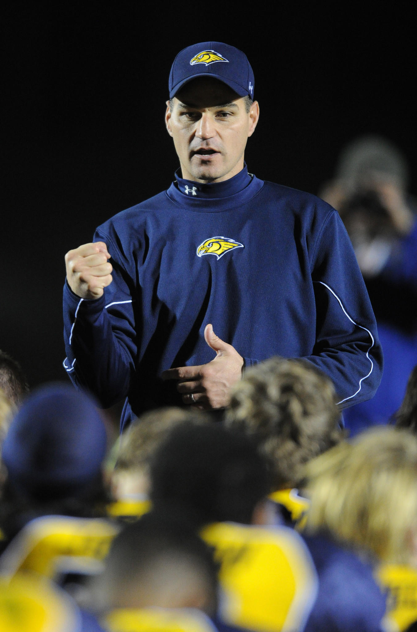 River Hill head coach Brian Van Deusen is coaching Team Maryland in the Big 33 Football Classic.