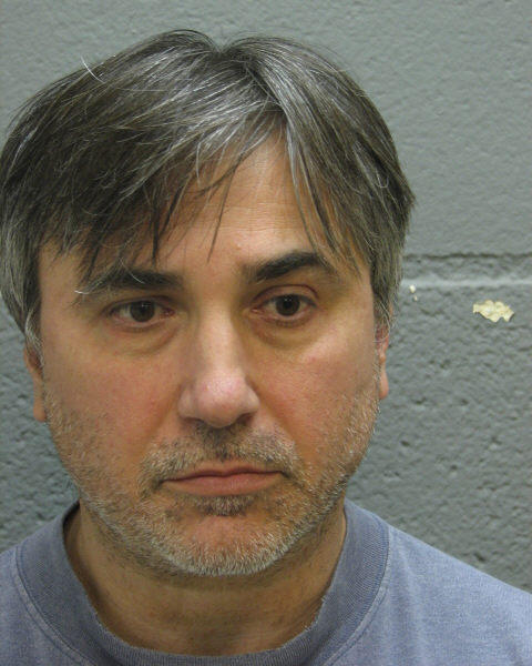 Aleksandar Mihailovic, 54, a man charged with public indecency for driving in Des Plaines with no pants.