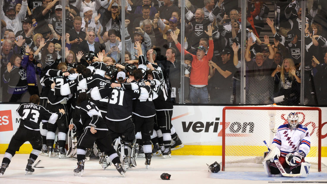 Kings win Stanley Cup Final