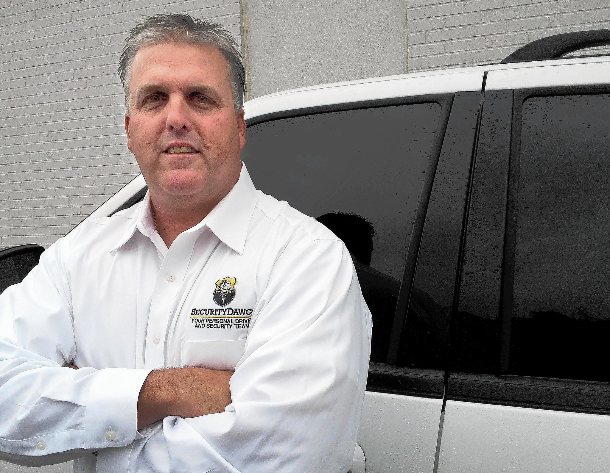 Colt Bracken, a Baltimore County Police detective, started working as a personal driver for a local business executive about 8 years ago, to supplement his income. Today, his company Security Dawgs employs more than a dozen off-duty and retired law enforcement officers as part-time drivers.