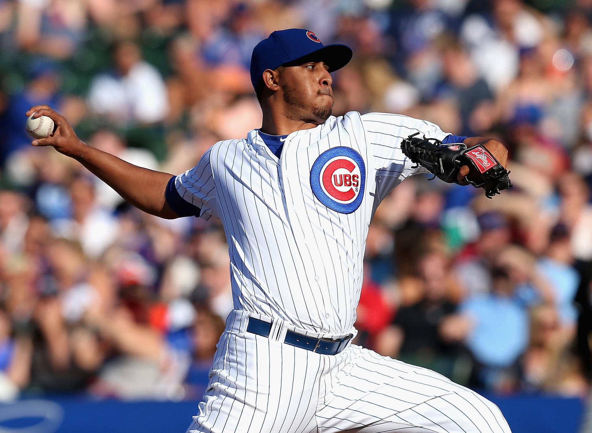 Cubs pitcher Hector Rondon