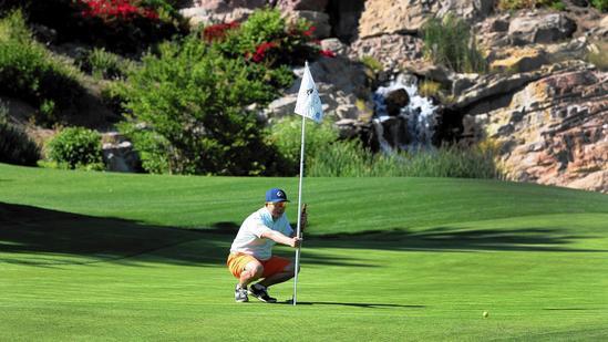 Chang Jiang Zhang at Dove Canyon Golf Club