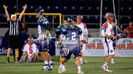 Cottle's challenge, Mundorf's game-winner help Bayhawks edge Cannons, 16-15