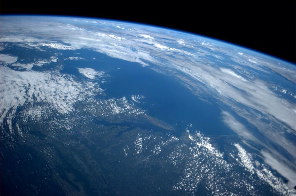 Astronaut Reid Wiseman, a Cockeysville native, shared a photo of Maryland from space.