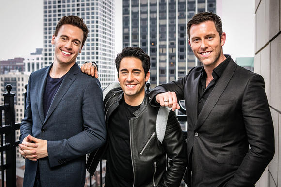 Erich Bergen, John Lloyd Young and Michael Lomenda of 'Jersey Boys'