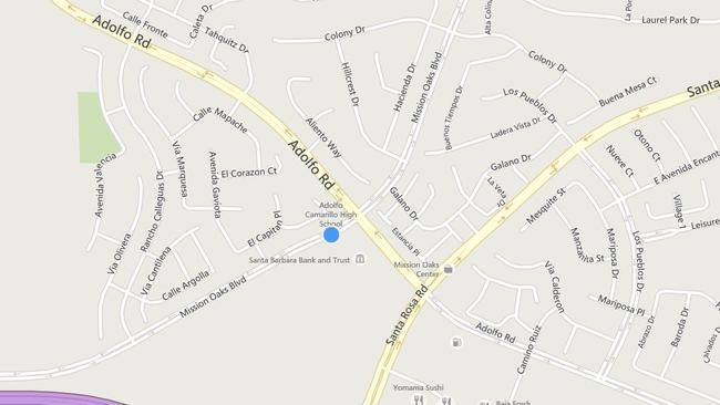 Camarillo High School Map Kill Camarillo High School