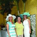 "Michelle Russo-Matak, left, Marti Huizenga and Jamie Stiles recently supported ""Tea by the Sea,"" a PAWS event to benefit the Humane Society of Broward County. The fundraiser took place at the home of Wayne and Marti Huizenga and raised $44,000."