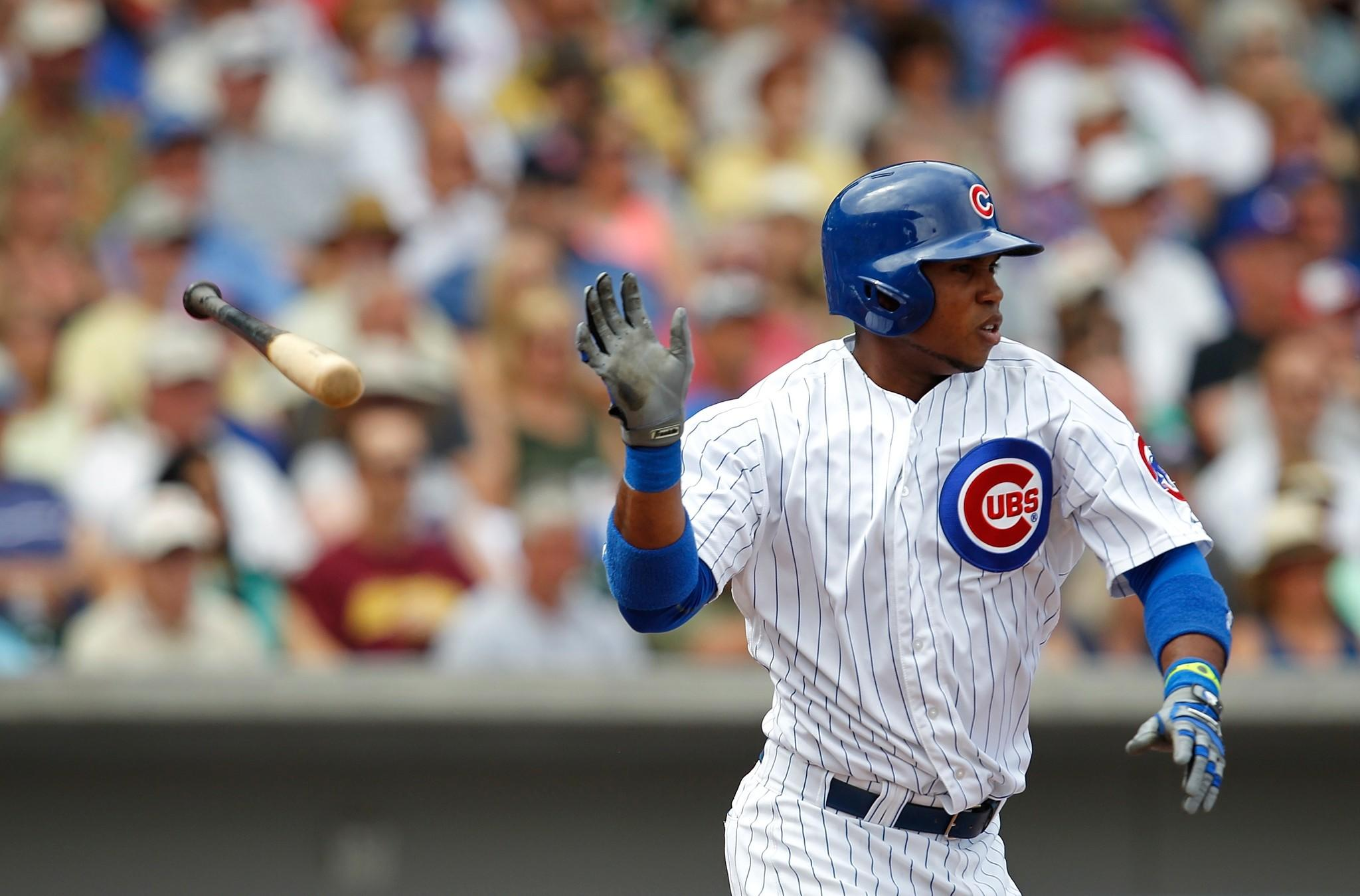 Luis Valbuena of the Chicago Cubs.