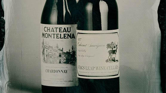 The two wines that won the famous Paris Tasting of 1976