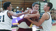 Photo Gallery: La Cañada vs. Oak Park boys' basketball tournament at Maranatha High School