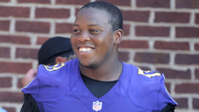 New center Jeremy Zuttah absorbing Ravens' system, settling int…