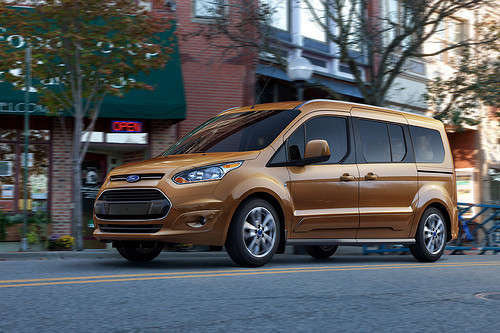 2015 Ford Transit Connect Wagon is not a minivan