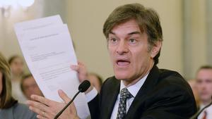 Dr. Oz doubles down on bogus weight loss products at Senate hearing