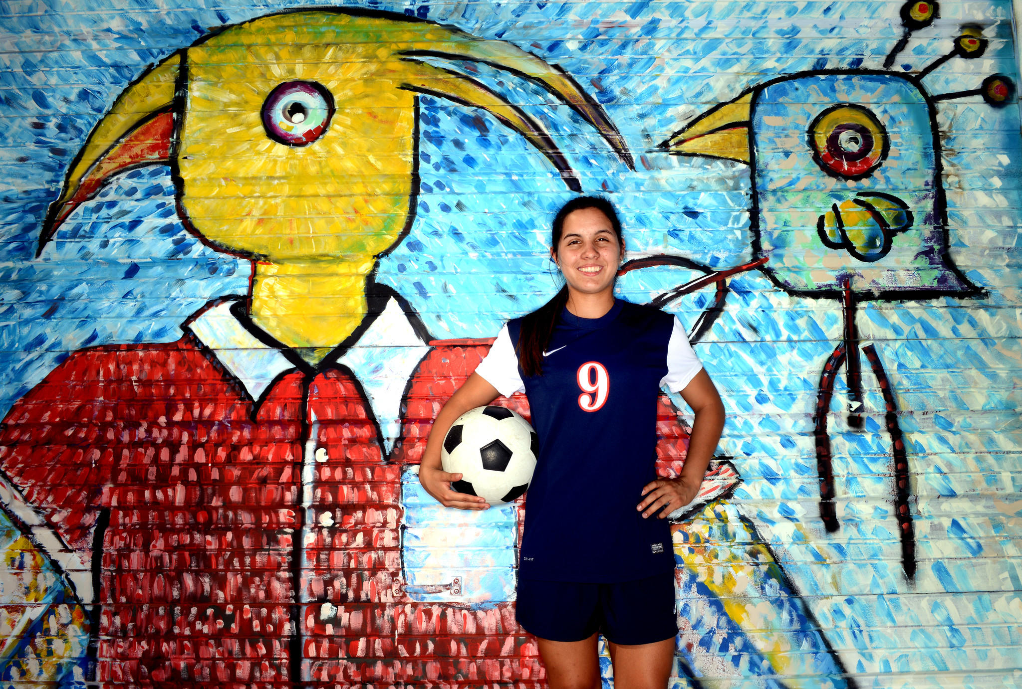 Lisa Cedeno of Oxbridge Academy was the girls soccer Player of the Year.