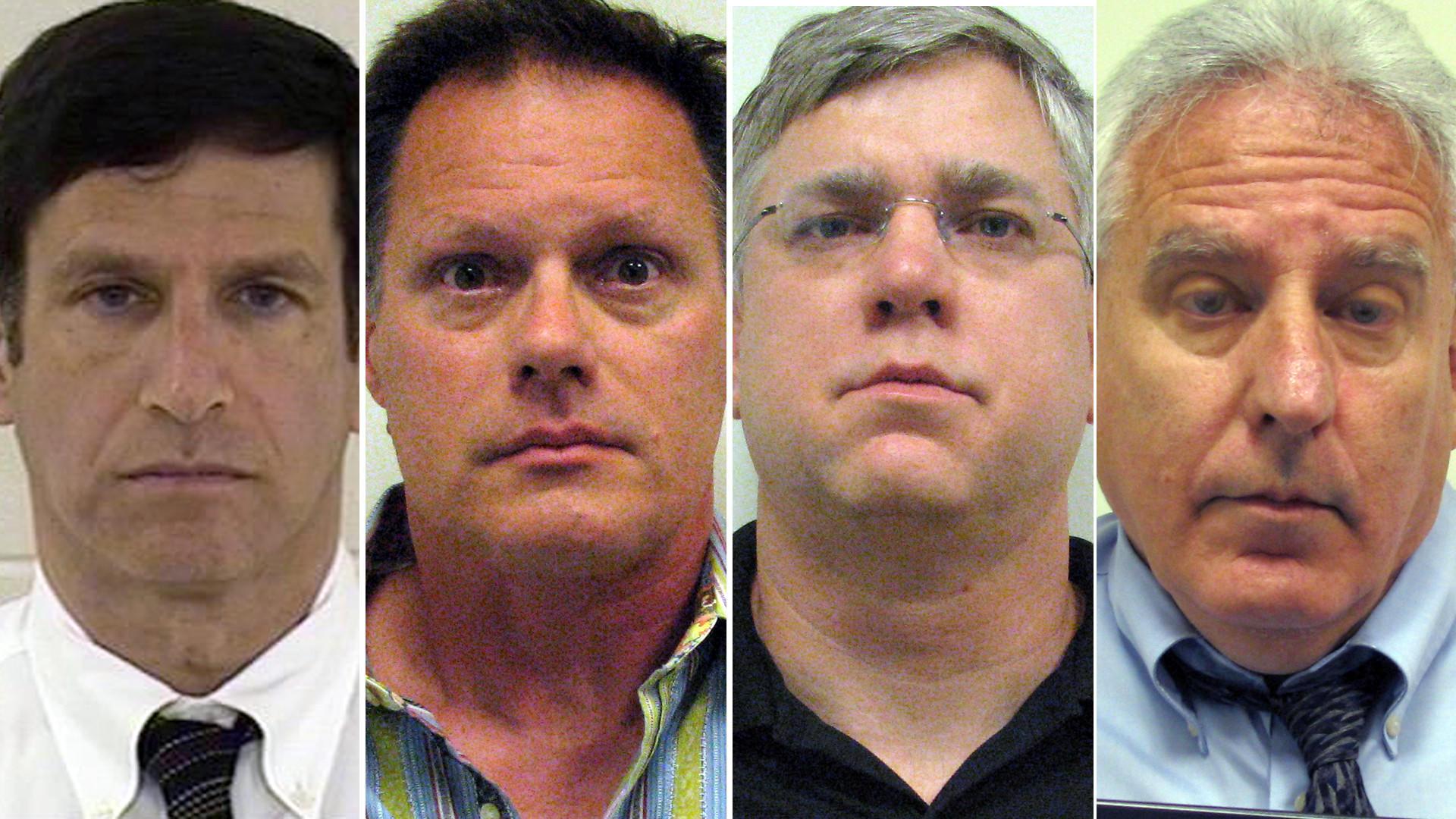 Dr. Jeffrey Frank, from left, Scott A. Arne, Jeffrey B. Hooper, Morris Kharasch.