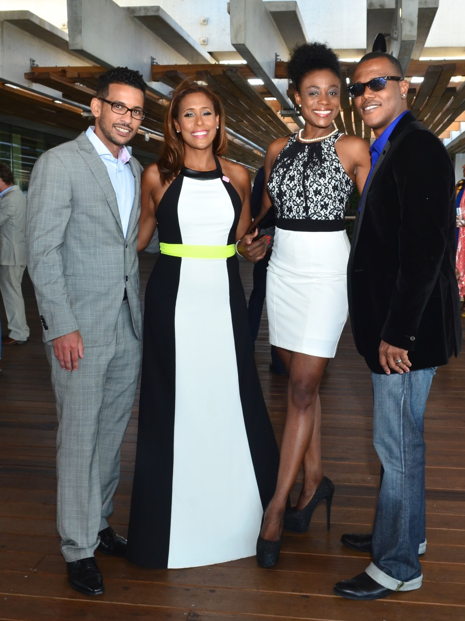 Society Scene photos - Asa Sealy, Neki Mohan, Jackie and Kevin Lyttle