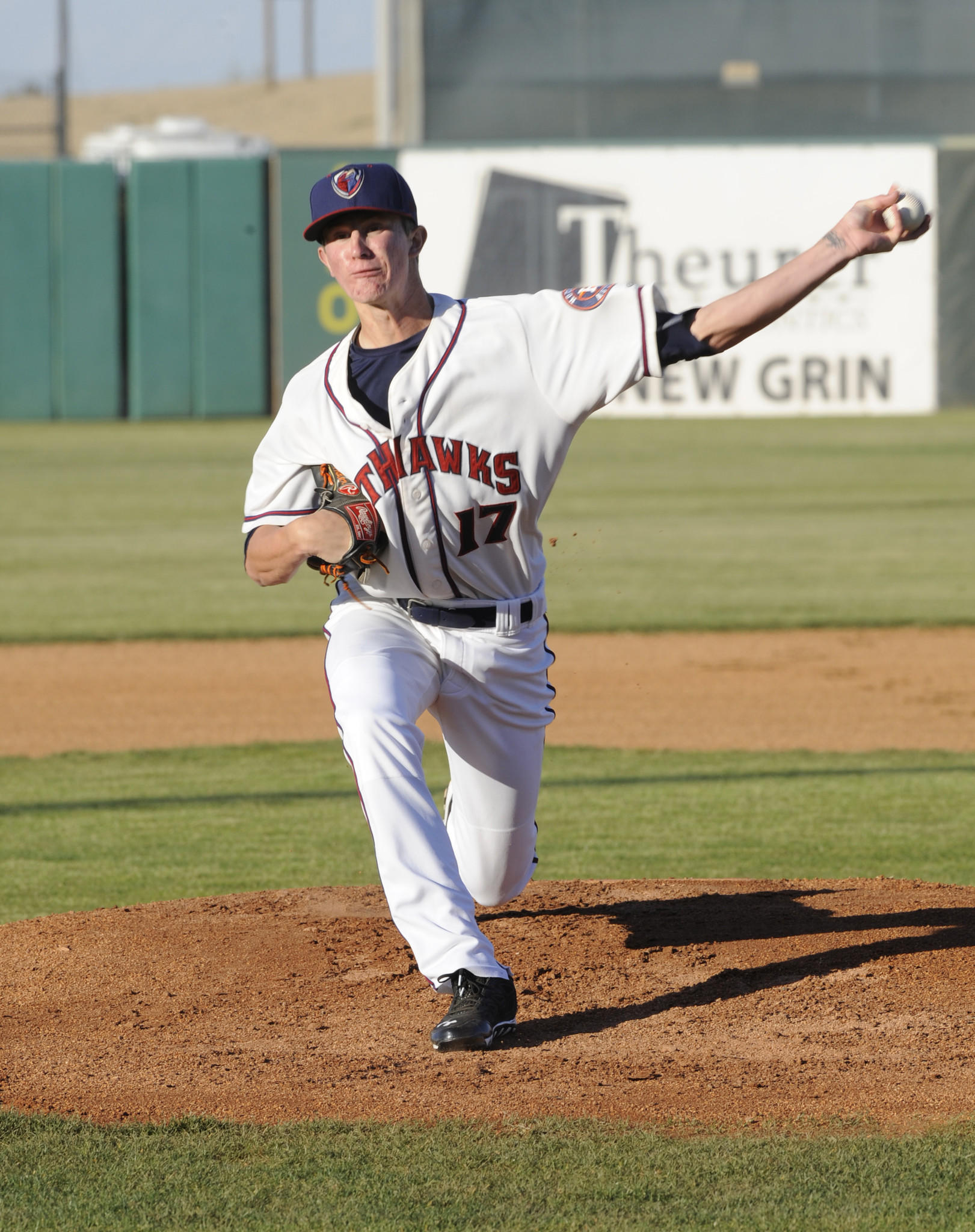 Josh Hader, a graduate of Old Mill High School, is working in the Houston Astro's farm system since being traded by the Orioles last year. Photo courtesy Lancaster JetHawks