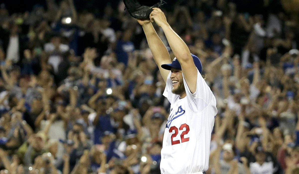 Clayton Kershaw joins Dodgers' greats with no-hitter vs. Rockies - LA Times
