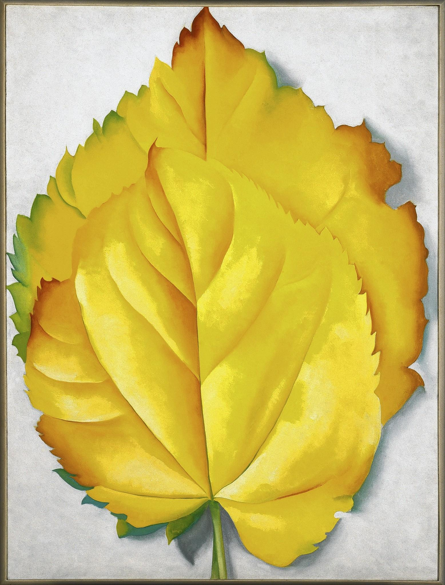 2 Yellow Leaves, 1928.