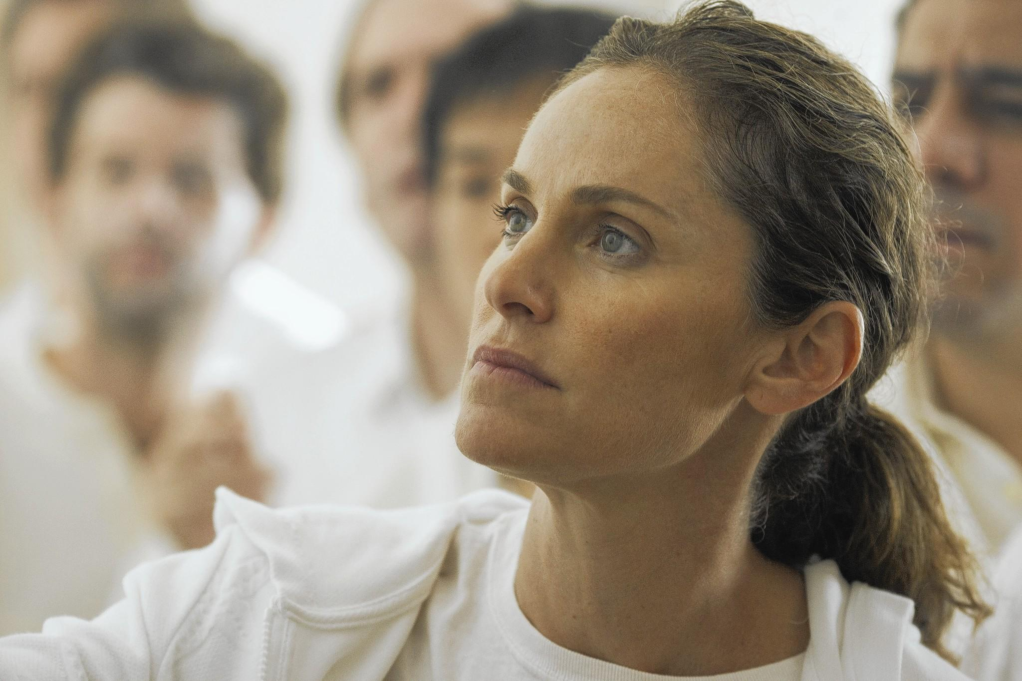 "Amy Brenneman stars in HBO Warner Brothers new series ""The Leftovers,"" premieres June 29."