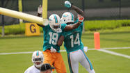 Photos: Miami Dolphins mini-camp