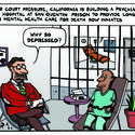 A psychiatric ward on San Quentin's death row