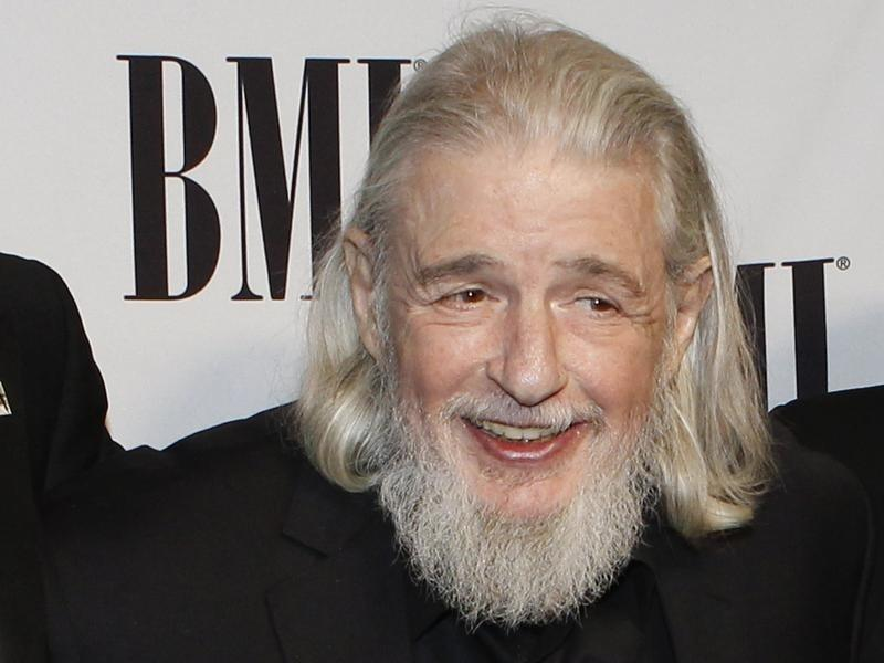 Songwriter Gerry Goffin poses at the BMI's 60th annual Pop Music Awards in Beverly Hills.