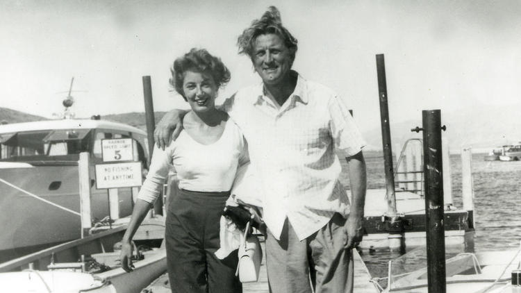 1954: Las Vegas wedding