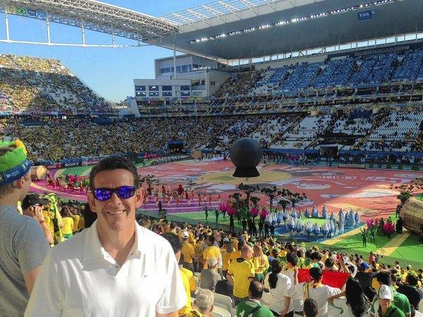 Michael Kammarman, a Laurel native who played soccer at Laurel High and the Laurel Boys and Girls Club, has worked for U.S. soccer for 13 years and is taking part in his fourth World Cup in Brazil.