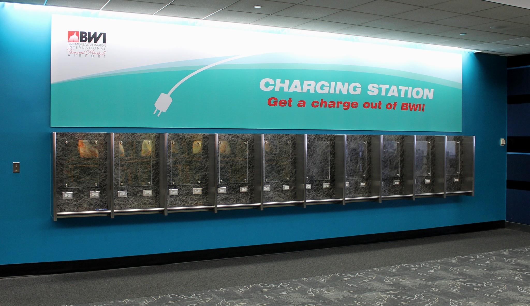 Bwi Pay Phones Remade For Electronic Devices