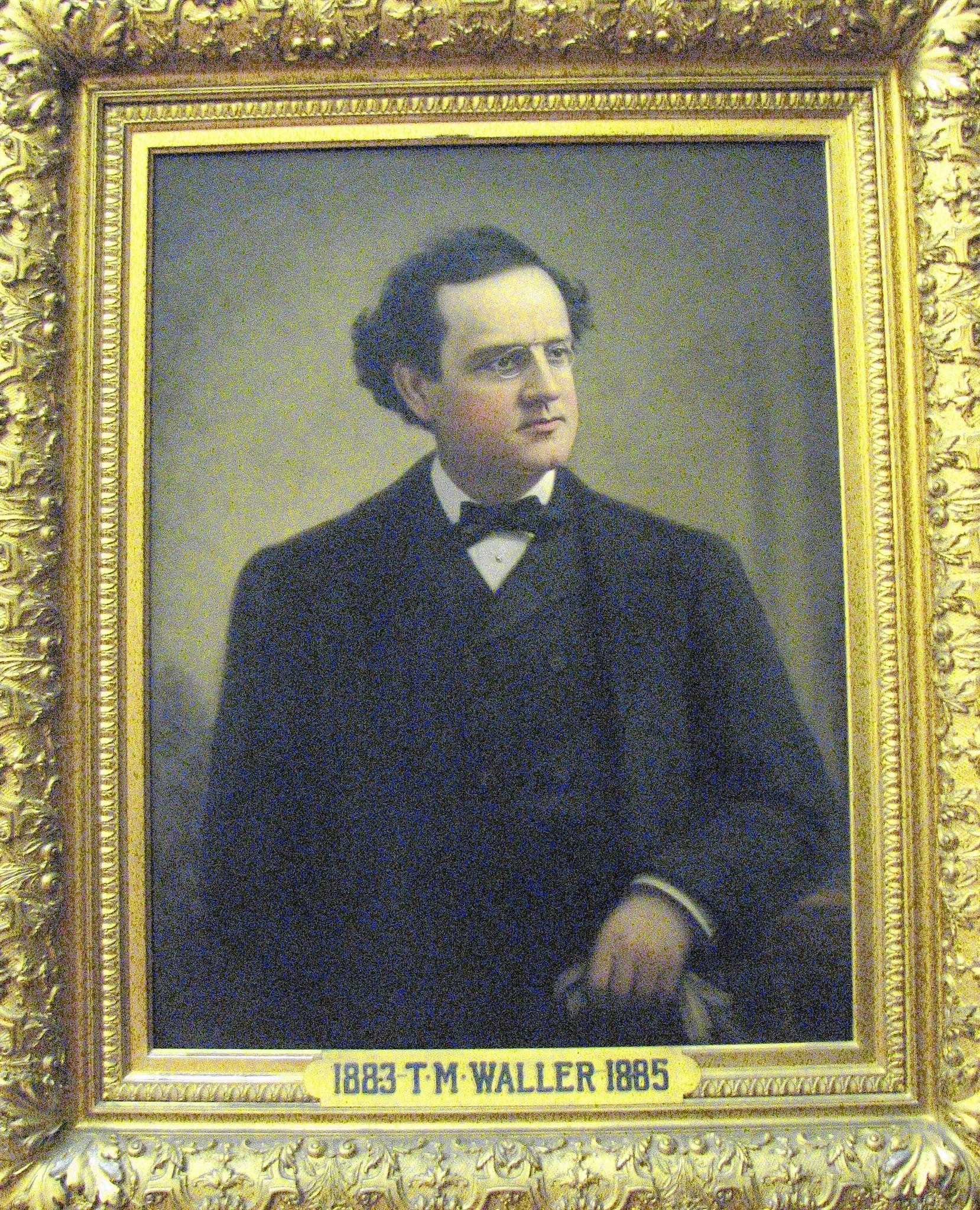 Connecticut's first governor of Irish descent, Thomas M. Waller of New London, held office from January 1883 to January 1885.