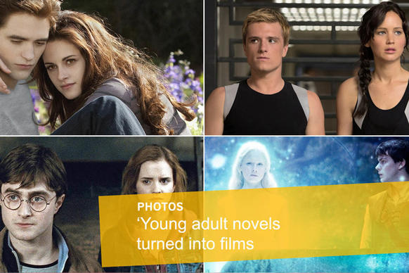 These days, studios are increasingly looking to turn popular young adult books into movies. Do fans rush to theaters or stay at home and tightly clutch their books? Take a look at 25 examples.<br>