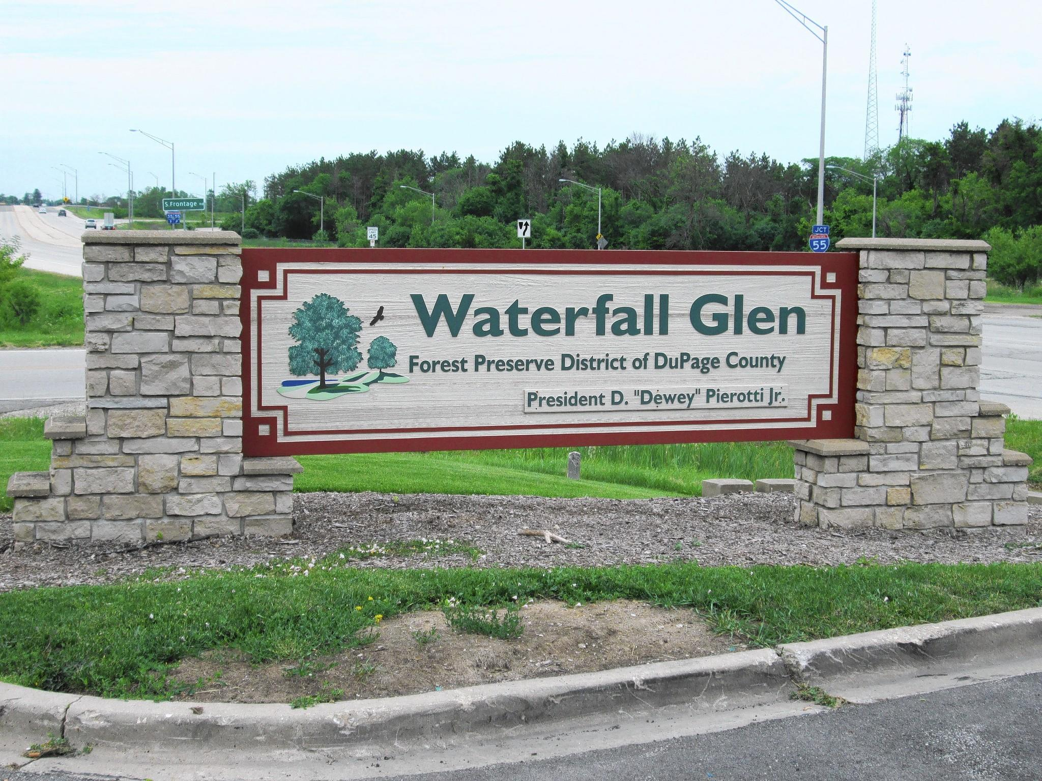 An insecticide will be sprayed in Burr Ridge and the Waterfall Glen Forest Preserve near Darien.
