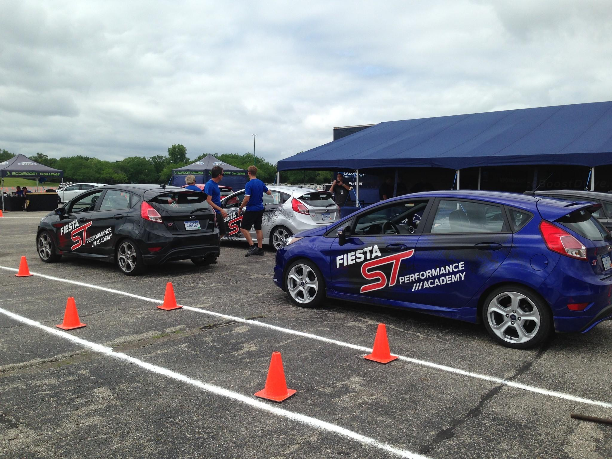 The 2014 Ford EcoBoost challenge at Arlington Park in Arlington Heights, Ill. features several experential courses, including the timed Fiesta ST performance academy. The event runs through June 22, 2014.