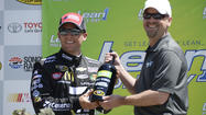 McMurray wins pole for Sunday's NASCAR race in Sonoma